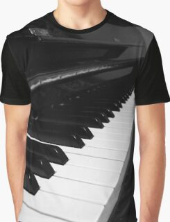 A Piano Graphic T-Shirt