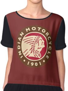 INDIAN MOTORCYCLES (2) Chiffon Top
