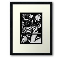 Witch House Hyper-Noir I Framed Print