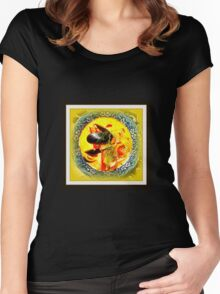 Nova Scotia Seafood Chowder Framed Women's Fitted Scoop T-Shirt