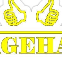 Stagehand Yellow Sticker