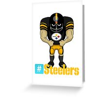 the steelers Greeting Card