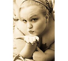Kisses Photographic Print