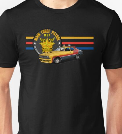 MAD MAX FORD FALCON PATROL INTERCEPTOR Unisex T-Shirt