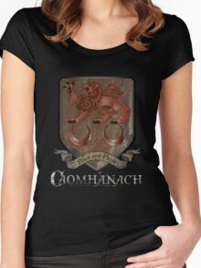 Caomhánach Rusty Shield Women's Fitted Scoop T-Shirt