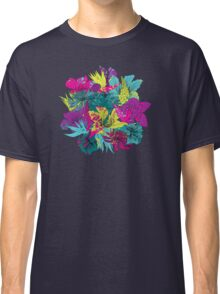 summernight / floral pattern Classic T-Shirt