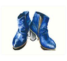 Prophecy Boots Art Print
