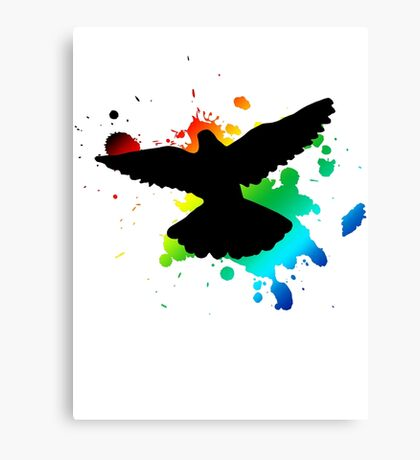 bird design Canvas Print