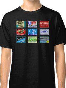 CALIFORNIA GAMES SPONSORS - MASTER SYSTEM  Classic T-Shirt