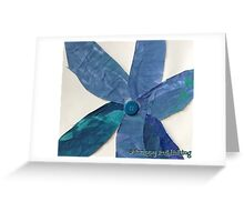 Momma's  Button Flower - by Colin Greeting Card