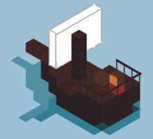 Lonley Ship by Pixelcoderus