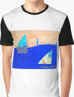 Let's Set Sail - by Colin Graphic T-Shirt