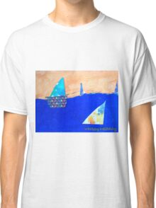 Let's Set Sail - by Colin Classic T-Shirt