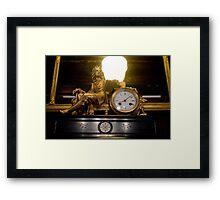 Man of Time Framed Print