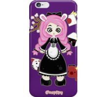 Cosplay Girl by Lolita Tequila iPhone Case/Skin