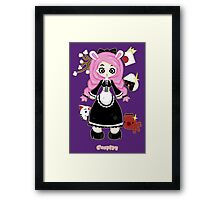 Cosplay Girl by Lolita Tequila Framed Print