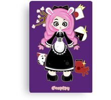 Cosplay Girl by Lolita Tequila Canvas Print