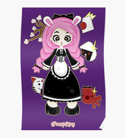 Cosplay Girl by Lolita Tequila Poster