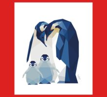 Emperor penguin family One Piece - Long Sleeve