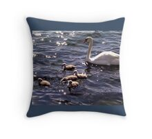 Quintuplets Throw Pillow