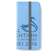 Finland Special Convention 2016 iPhone Wallet/Case/Skin