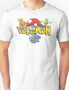 Pokemon generation 3 artwork T-Shirt
