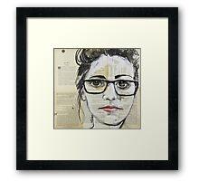 Bookworm Framed Print