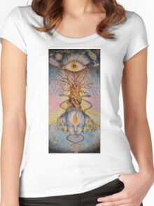 Pineal Gland Women's Fitted Scoop T-Shirt