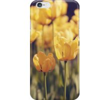 Yellow tulips (Art Photo)  iPhone Case/Skin
