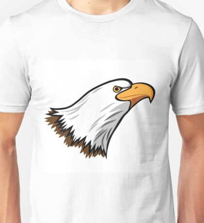 Bald Eagle Mascot Unisex T-Shirt