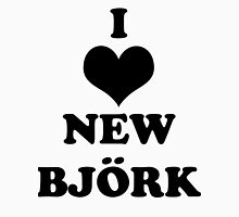 I Heart New Bjork Unisex T-Shirt