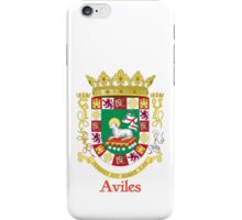 Aviles Shield of Puerto Rico iPhone Case/Skin