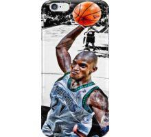 Kevin Garnett Dunk iPhone Case/Skin