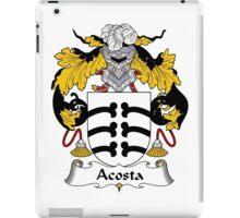 Acosta Coat of Arms/Family Crest iPad Case/Skin