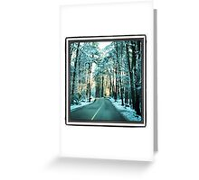 Crisp Morning - by momma Greeting Card