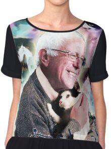 Bernie feelthepurr Chiffon Top