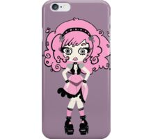 Cotton Candy Girl by Lolita Tequila iPhone Case/Skin