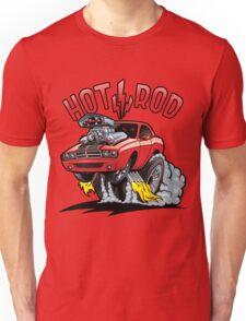 Hot Rod, Jumping Sport Car Unisex T-Shirt