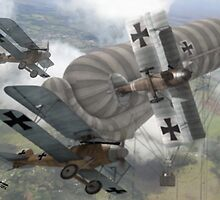 WW I - Air Combat 3 by A. Hermann