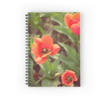 Red Tulips (Art Photo)  Spiral Notebook