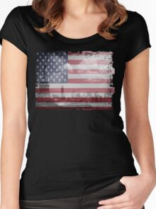 State of Liberty - New York Women's Fitted Scoop T-Shirt