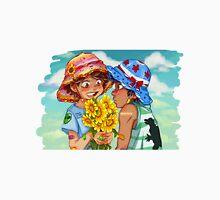 Sunflowers and Boys Unisex T-Shirt