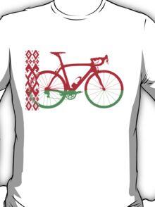 Bike Flag Belarus (Big) (T-Shirt) T-Shirt