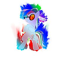 Rainbow Dash PON3 Design Photographic Print