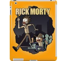 Rick and Morty/ The Walking Dead crossover iPad Case/Skin