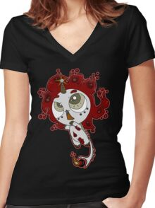 Firecorn by Lolita Tequila Women's Fitted V-Neck T-Shirt
