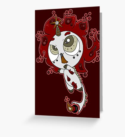 Firecorn by Lolita Tequila Greeting Card