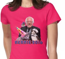 Bernie and pals Womens Fitted T-Shirt