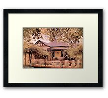 Australian Cottage Collection: Mary Framed Print