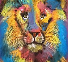 Guardian Lion Raoul  by Michelle Potter